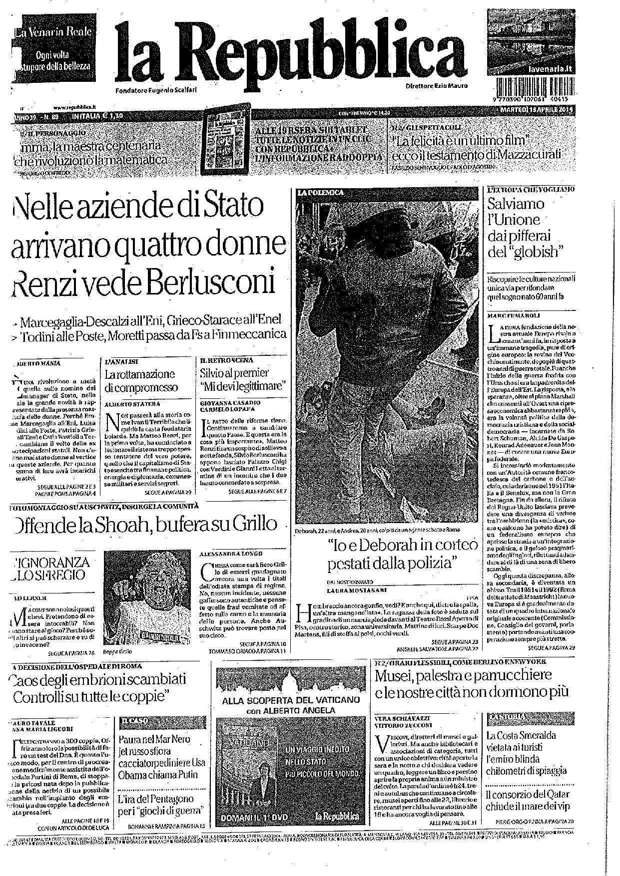 laRepubblica13Aprile2014-1